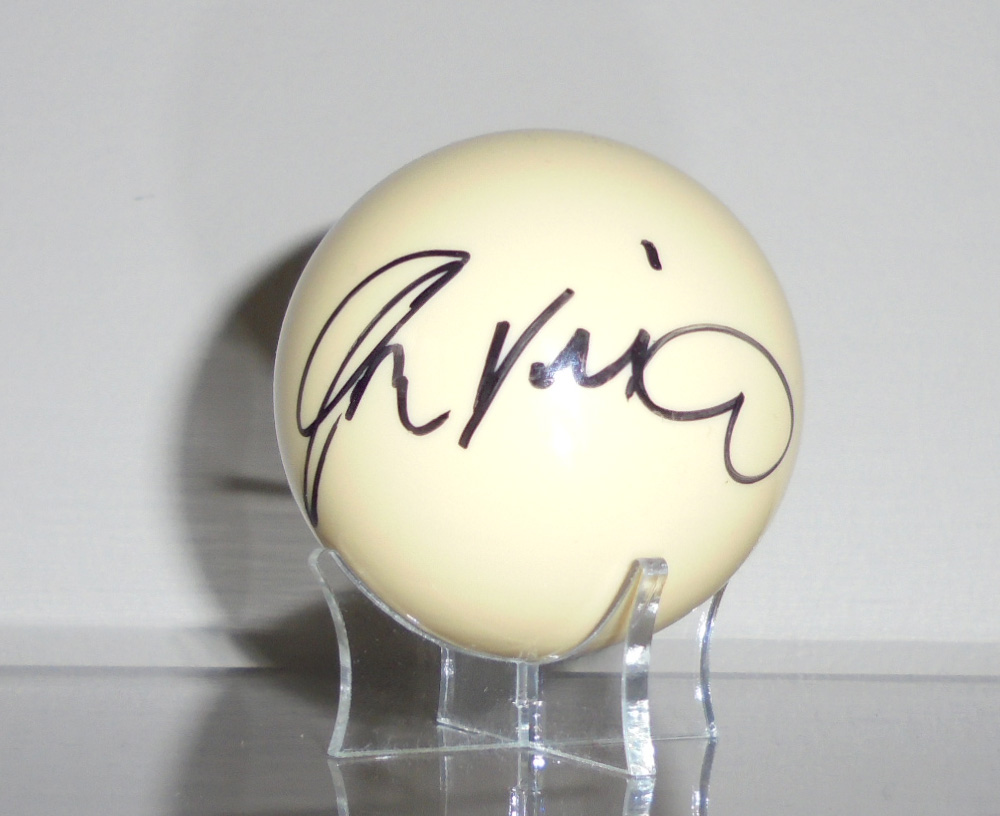 Buy John Virgo Signed Snooker Ball