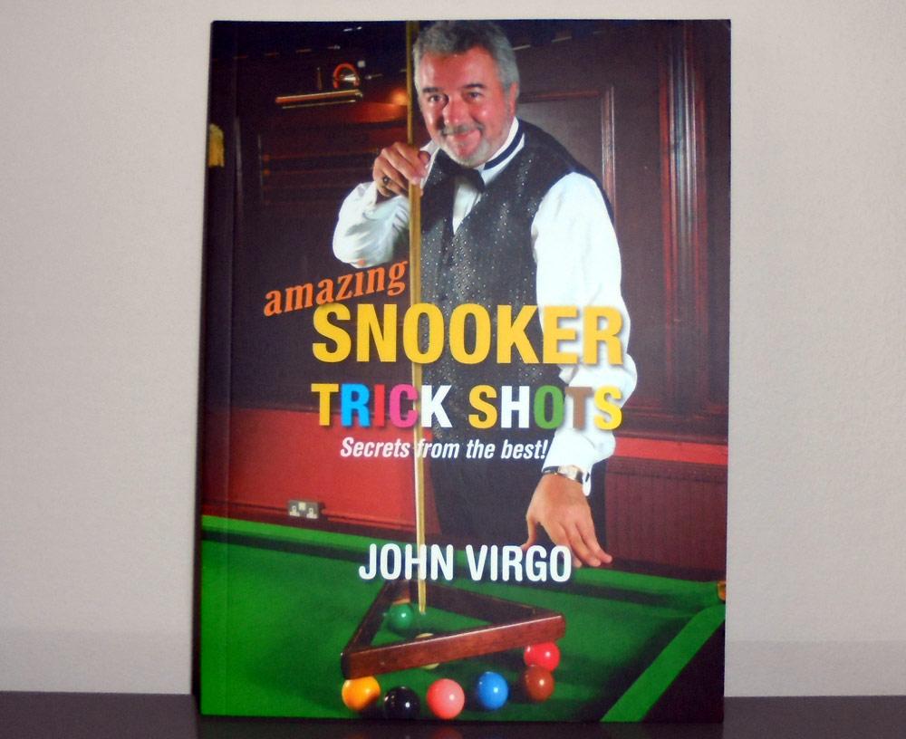 Signed copy of John Virgo Snooker Trick Shot Book