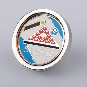 Enamel Snooker Tie or Lapel pin